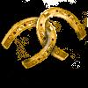Великолепная золотая подкова