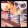 12 пламенных свечей